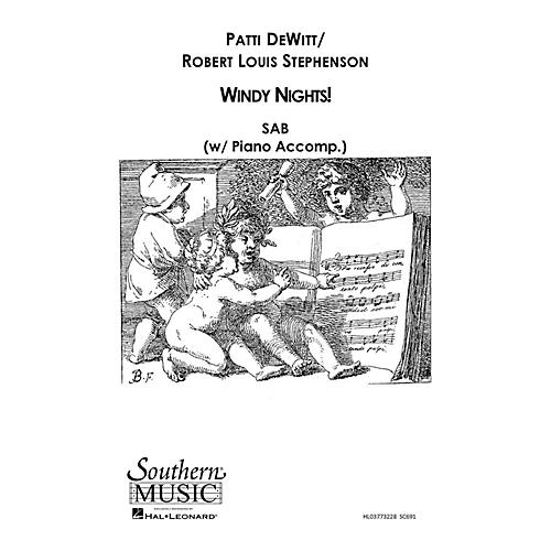 Southern Windy Nights SAB Composed by Patti DeWitt thumbnail