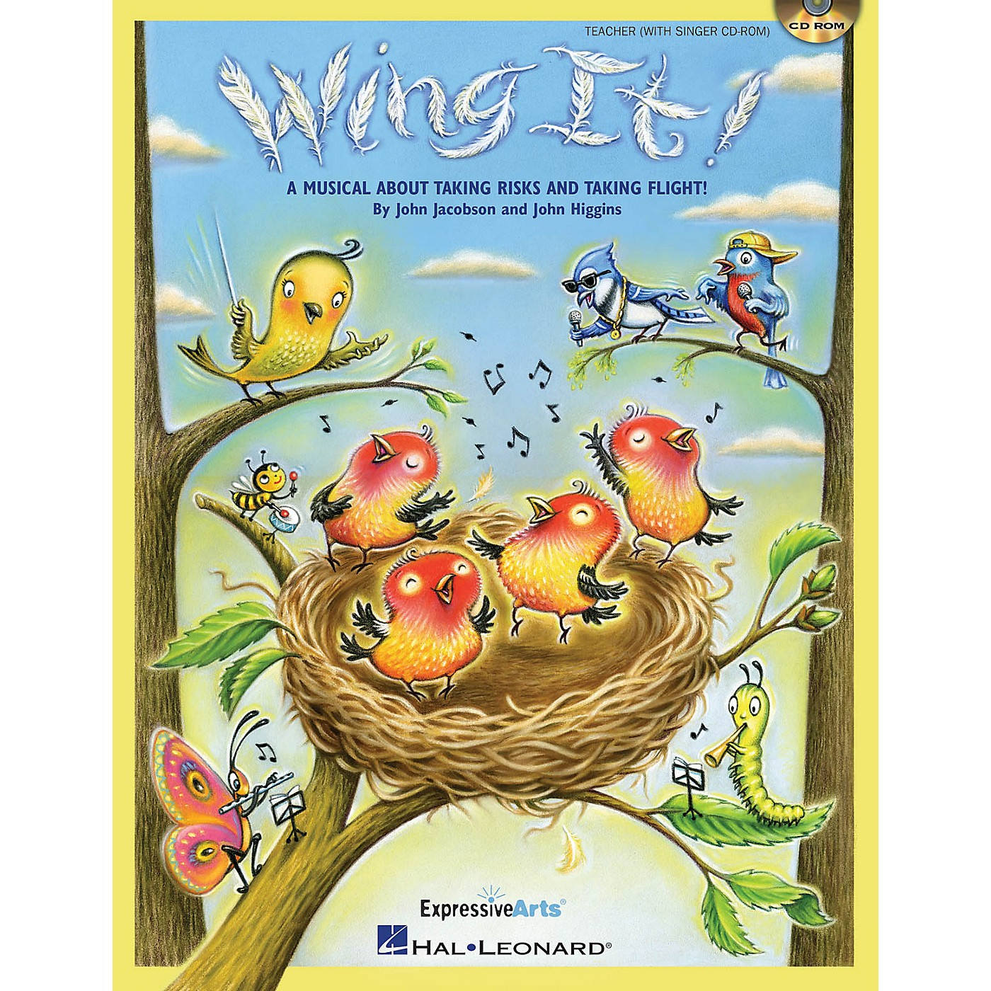 Hal Leonard Wing It! (A Musical About Taking Risks and Taking Flight!) Performance/Accompaniment CD by John Jacobson thumbnail
