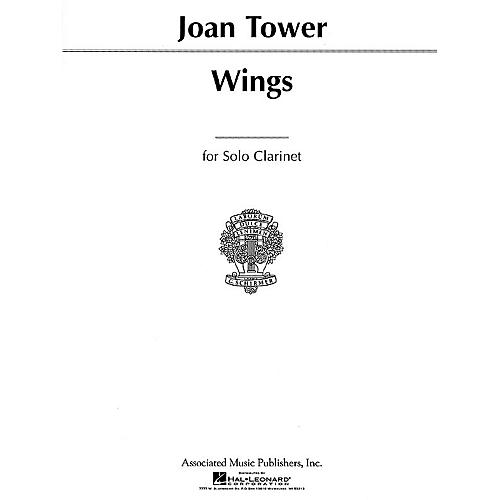 Associated Wings (for Solo Clarinet or Bass Clarinet) Woodwind Solo Series Composed by Joan Tower thumbnail