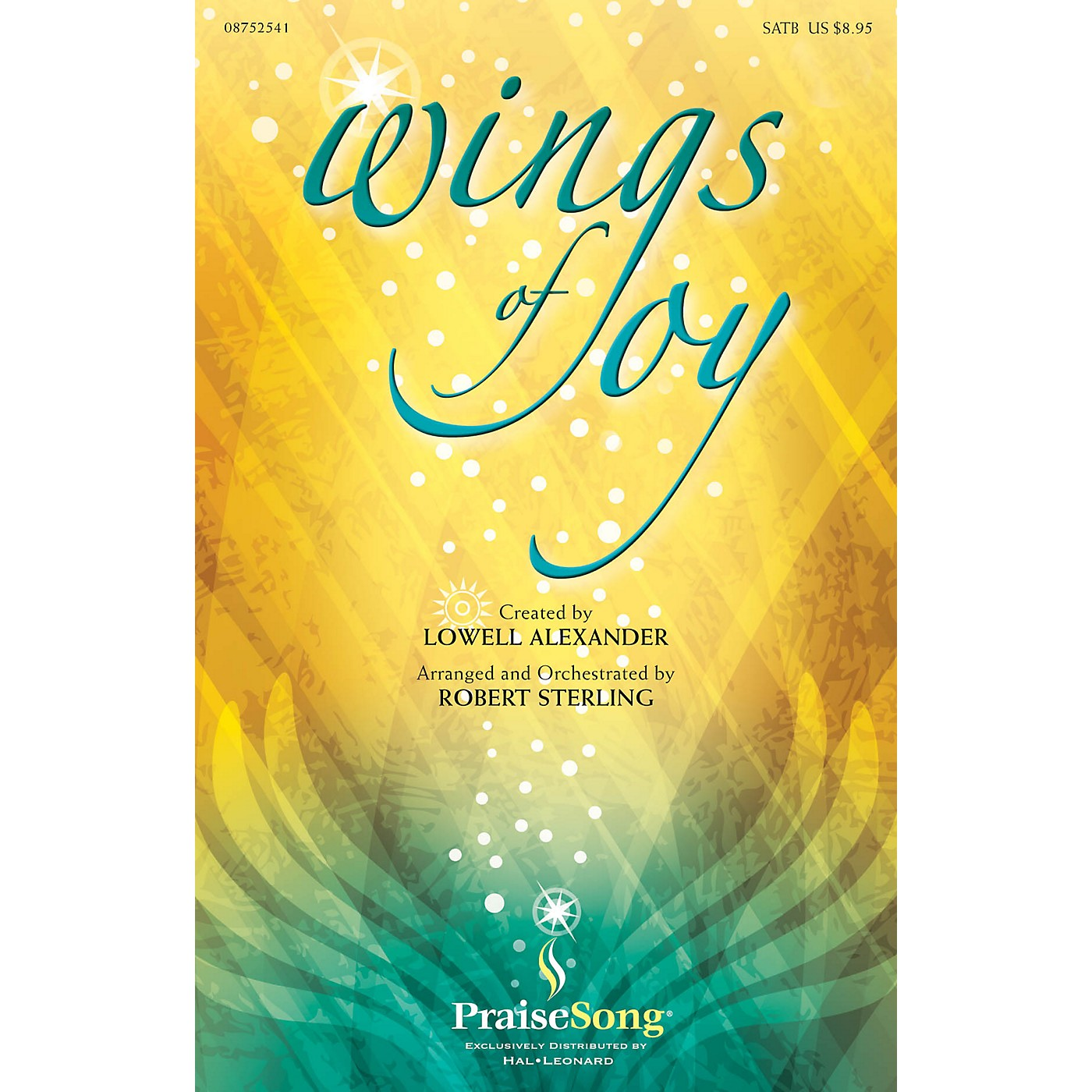 PraiseSong Wings of Joy SATB arranged by Robert Sterling thumbnail
