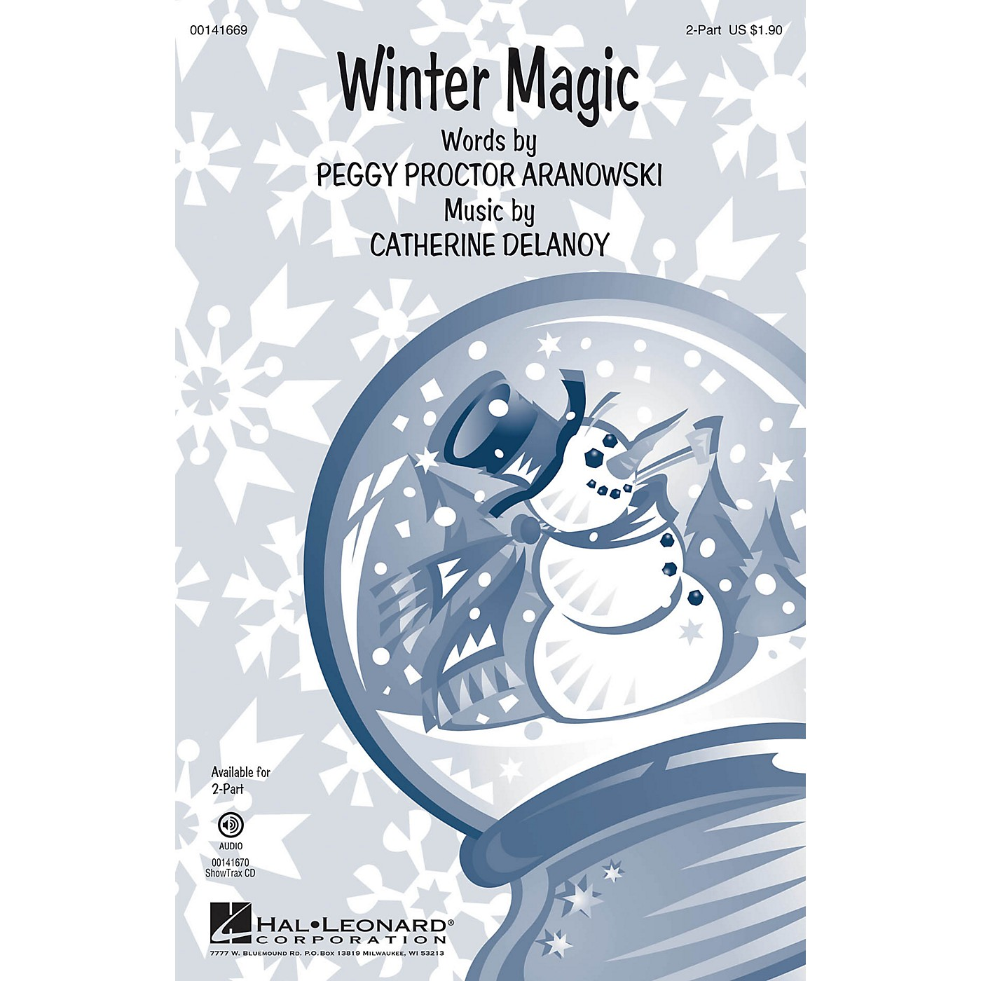 Hal Leonard Winter Magic 2-Part composed by Catherine DeLanoy thumbnail