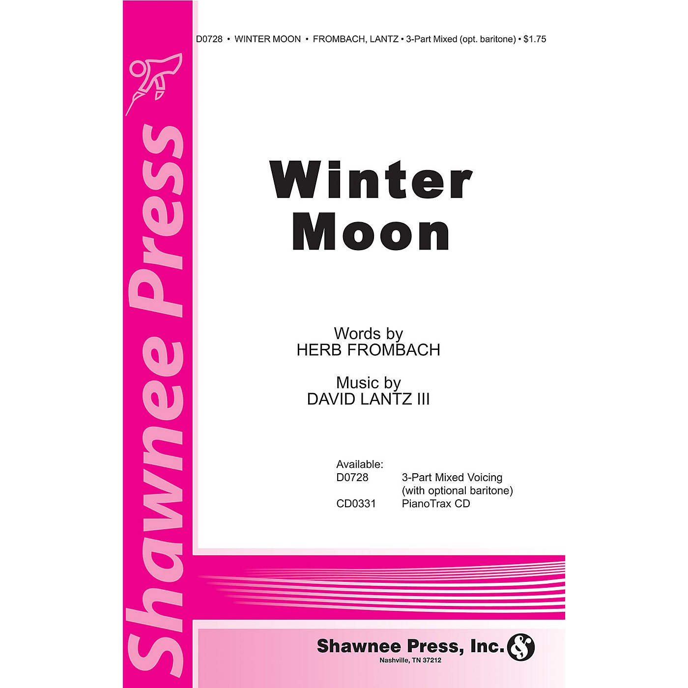 Shawnee Press Winter Moon 3-Part Mixed composed by David Lantz III thumbnail