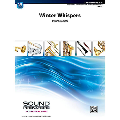 Alfred Winter Whispers Concert Band Grade 1 Set thumbnail