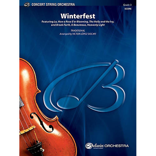 Alfred Winterfest String Orchestra Grade 3 Set thumbnail