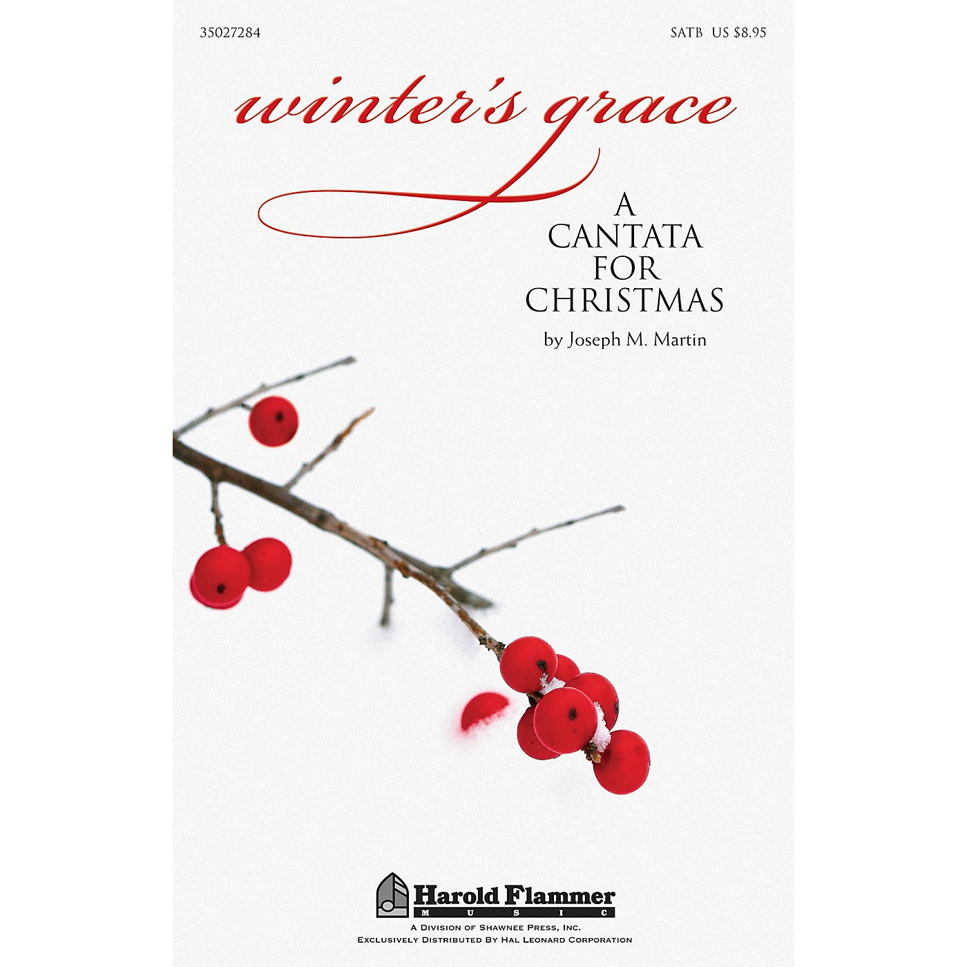Shawnee Press Winter's Grace (Christmas Cantata) Preview Pak Composed by Joseph M. Martin thumbnail