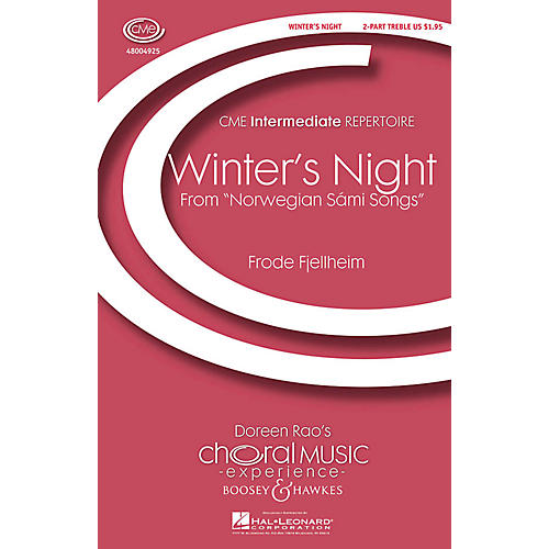 Boosey and Hawkes Winter's Night (Vinternatt) (from Norwegian Sámi Songs) CME Intermediate 2-Part by Frode Fjellheim thumbnail