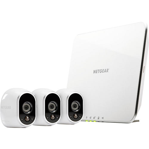 Arlo Wire-Free Smart Security System with 3 Arlo Cameras (VMS3330) thumbnail
