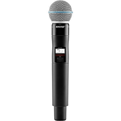 Shure Wireless Handheld Transmitter with Beta58A Microphone thumbnail