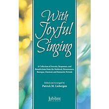 JUBILATE With Joyful Singing - SATB Choral Book