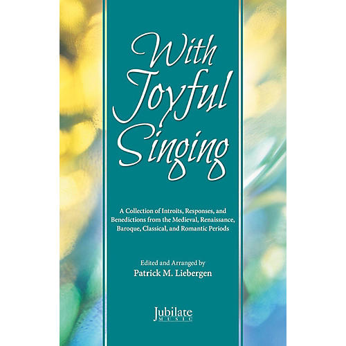 JUBILATE With Joyful Singing - SATB Choral Book thumbnail