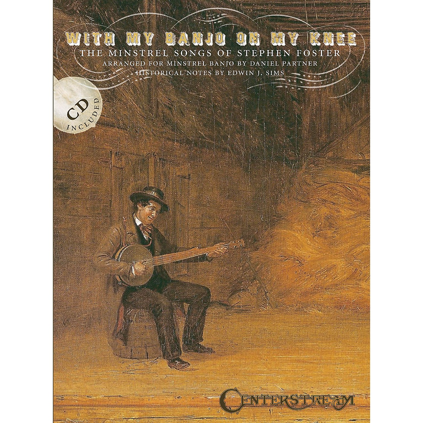 Centerstream Publishing With My Banjo on My Knee (The Minstrel Songs of Stephen Foster) Banjo Series Softcover with CD thumbnail