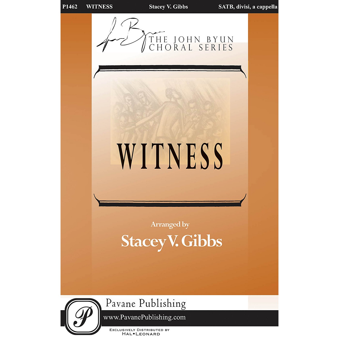 Pavane Witness SATB DV A Cappella arranged by Stacey Gibbs thumbnail