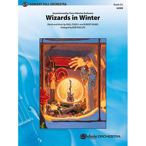 Alfred Wizards in Winter Full Orchestra Level 3.5 Set thumbnail