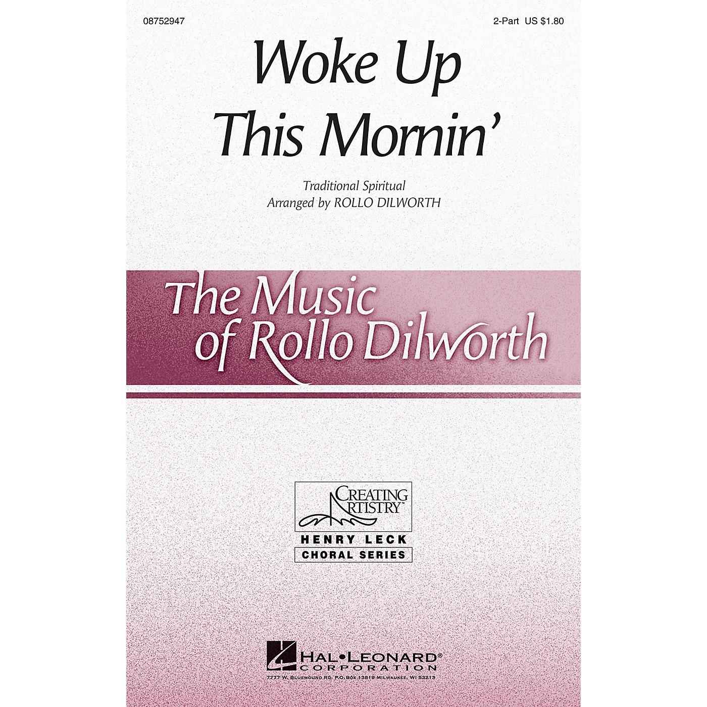 Hal Leonard Woke Up This Mornin' 2-Part arranged by Rollo Dilworth thumbnail
