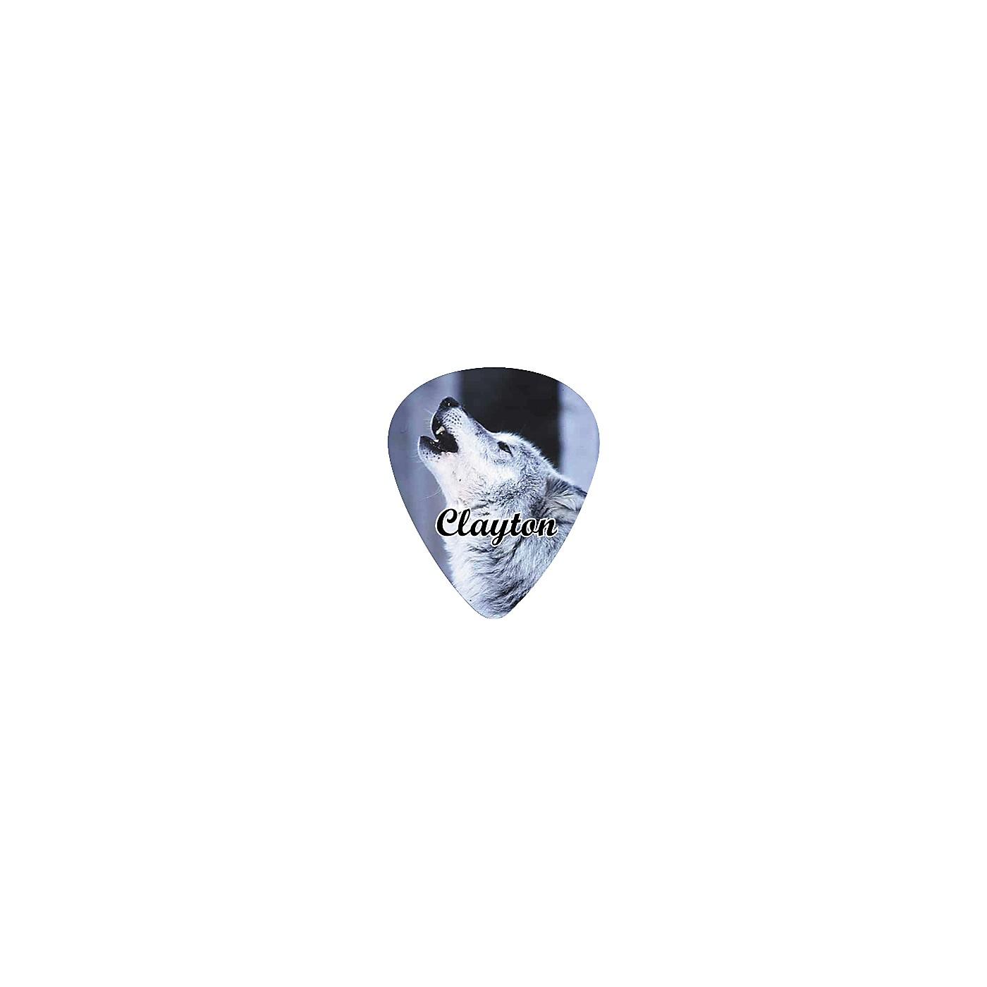 Clayton Wolf Guitar Pick Standard thumbnail