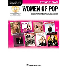 Hal Leonard Women Of Pop For Tenor Sax - Instrumental Play-Along Book/CD