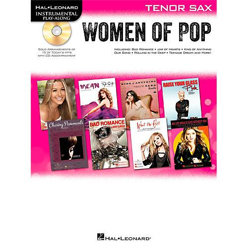 Hal Leonard Women Of Pop For Tenor Sax - Instrumental Play-Along Book/CD thumbnail