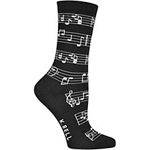 K. Bell Women's Making Music Crew Socks