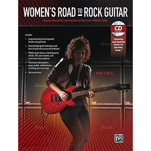 Alfred Women's Road to Rock Guitar Book & CD thumbnail