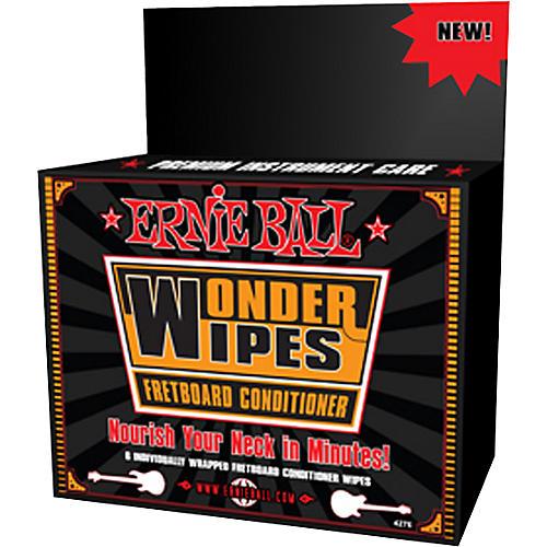 Ernie Ball Wonder Wipe Fretboard Conditioner 6-pack thumbnail