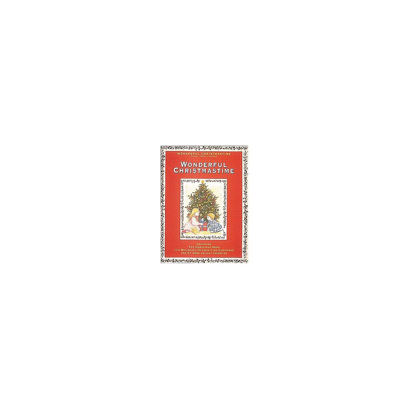 Hal Leonard Wonderful Christmastime Piano, Vocal, Guitar Songbook thumbnail
