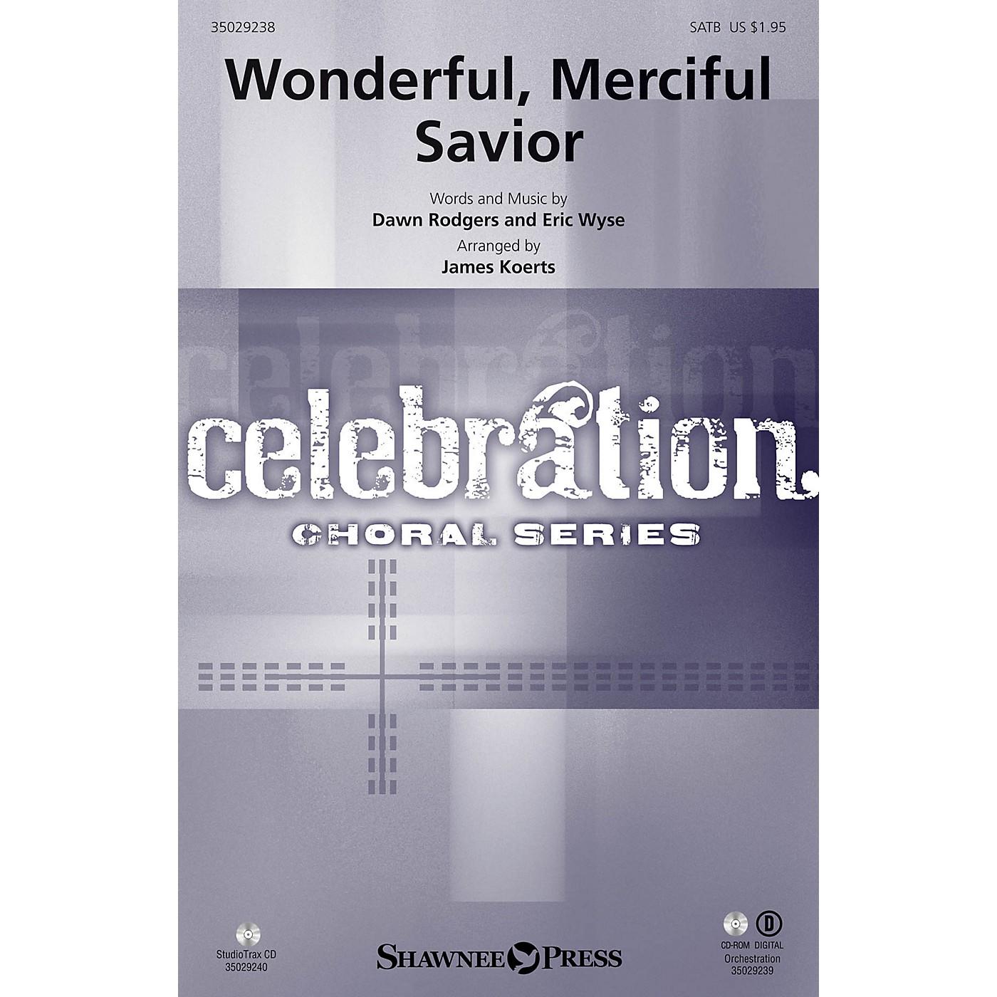 Shawnee Press Wonderful, Merciful Savior Studiotrax CD Arranged by James Koerts thumbnail