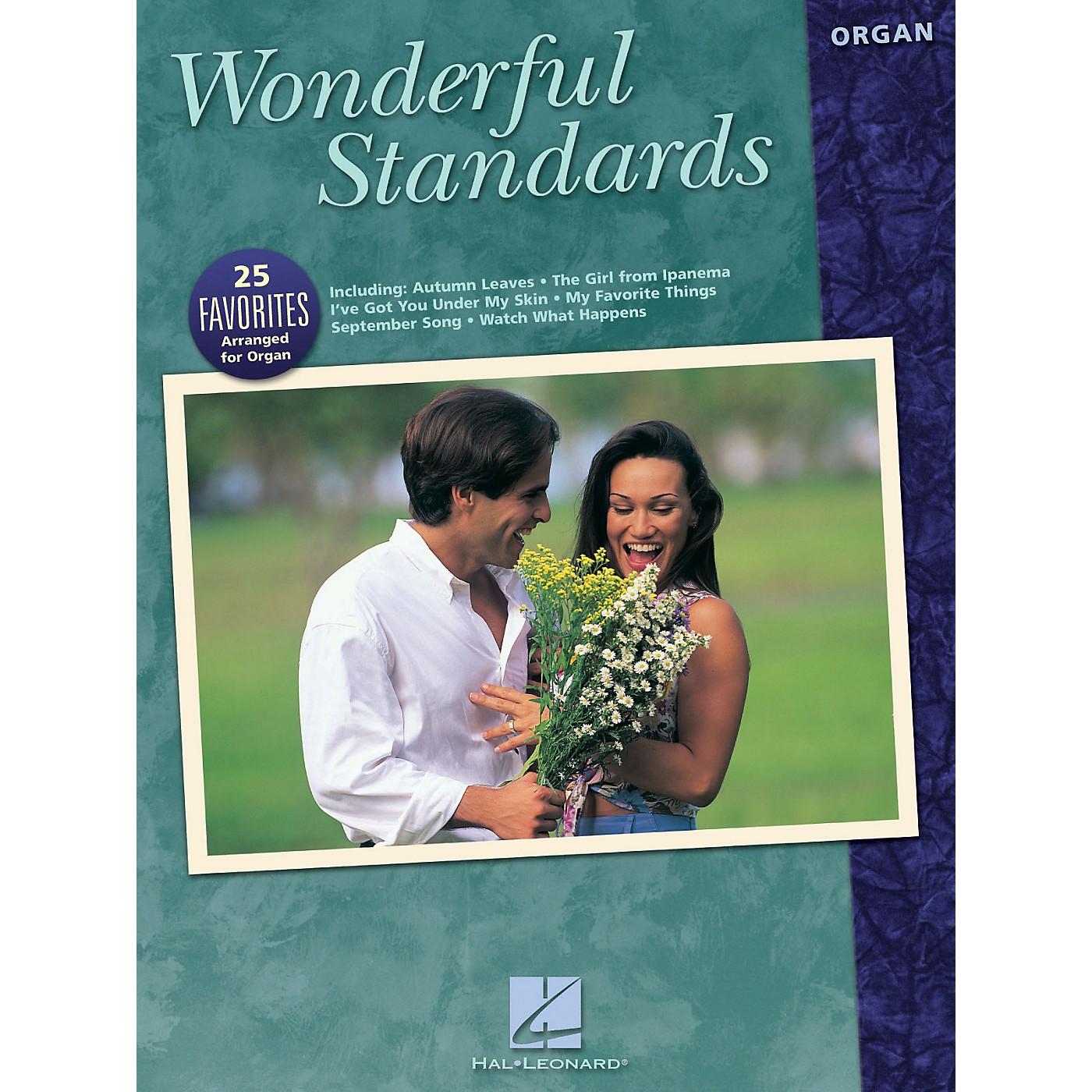 Hal Leonard Wonderful Standards Organ Adventure Series thumbnail