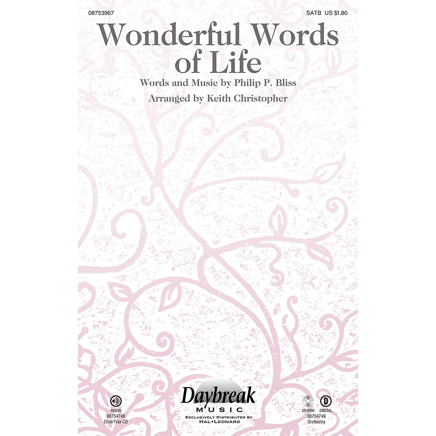 Daybreak Music Wonderful Words of Life ORCHESTRA ACCOMPANIMENT Arranged by Keith Christopher thumbnail