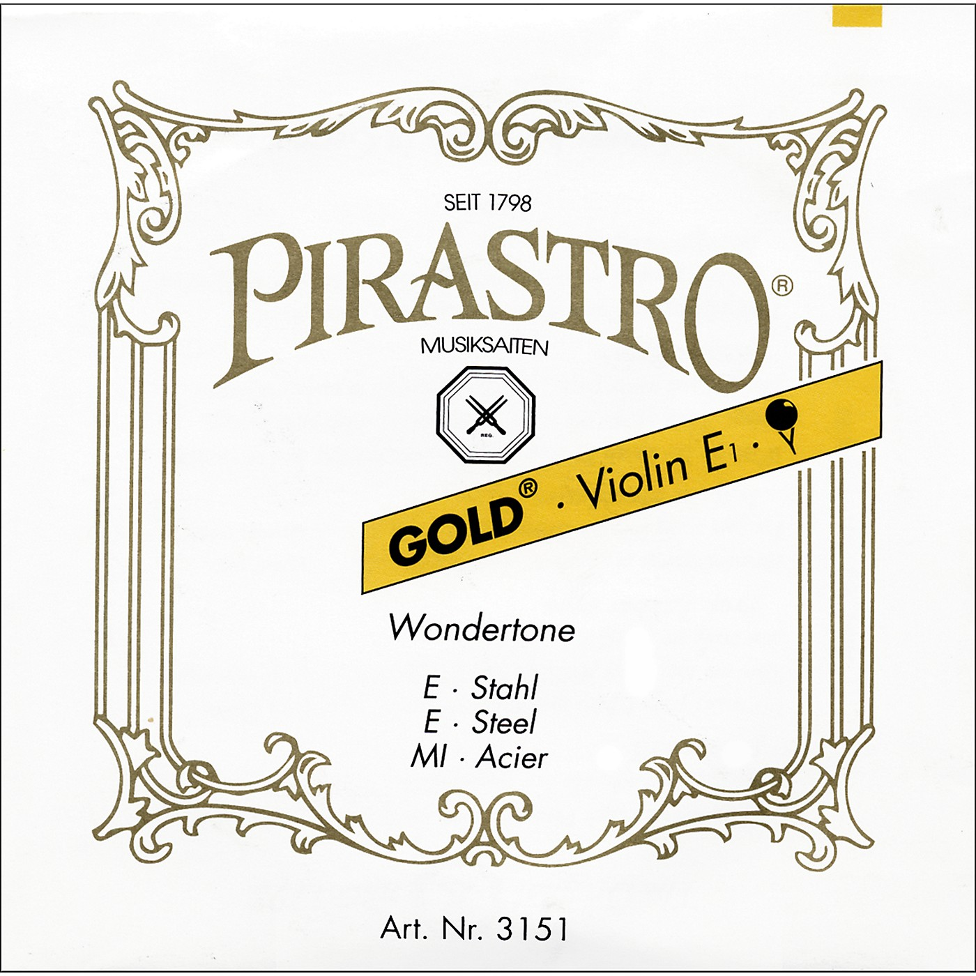 Pirastro Wondertone Gold Label Series Violin D String thumbnail