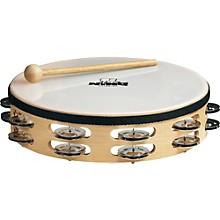 Nino Wood Double Row Tambourine