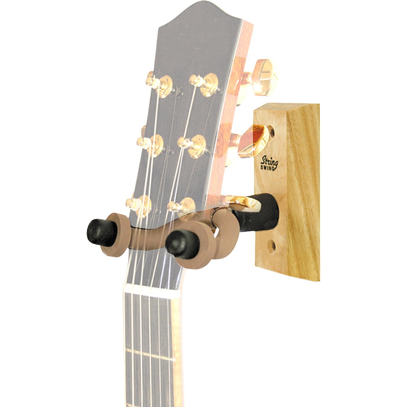 String Swing Wood Guitar Wall Hanger thumbnail