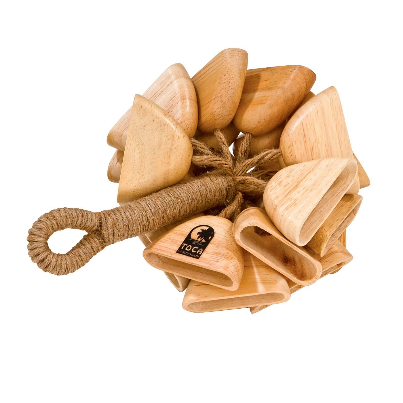 Toca Wood Rattle on Handle thumbnail
