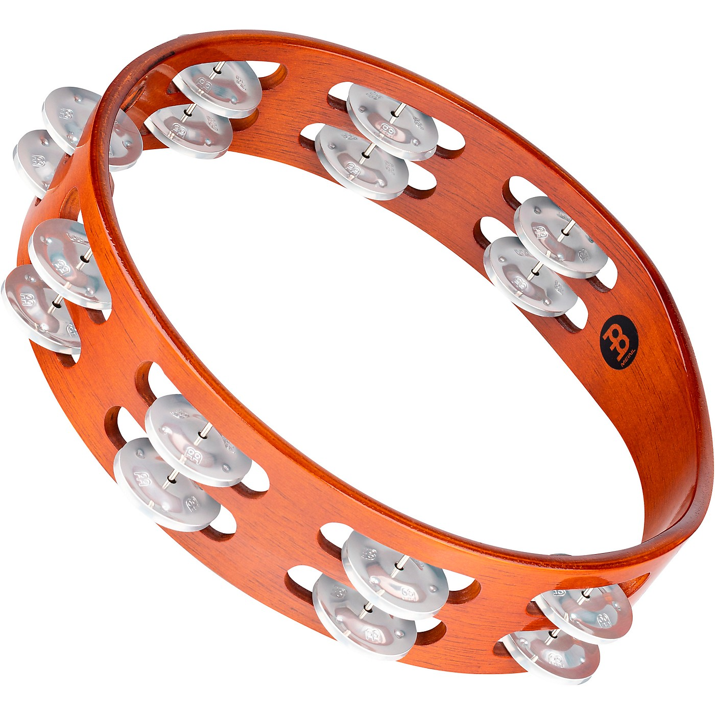 Meinl Wood Tambourine Two Rows thumbnail