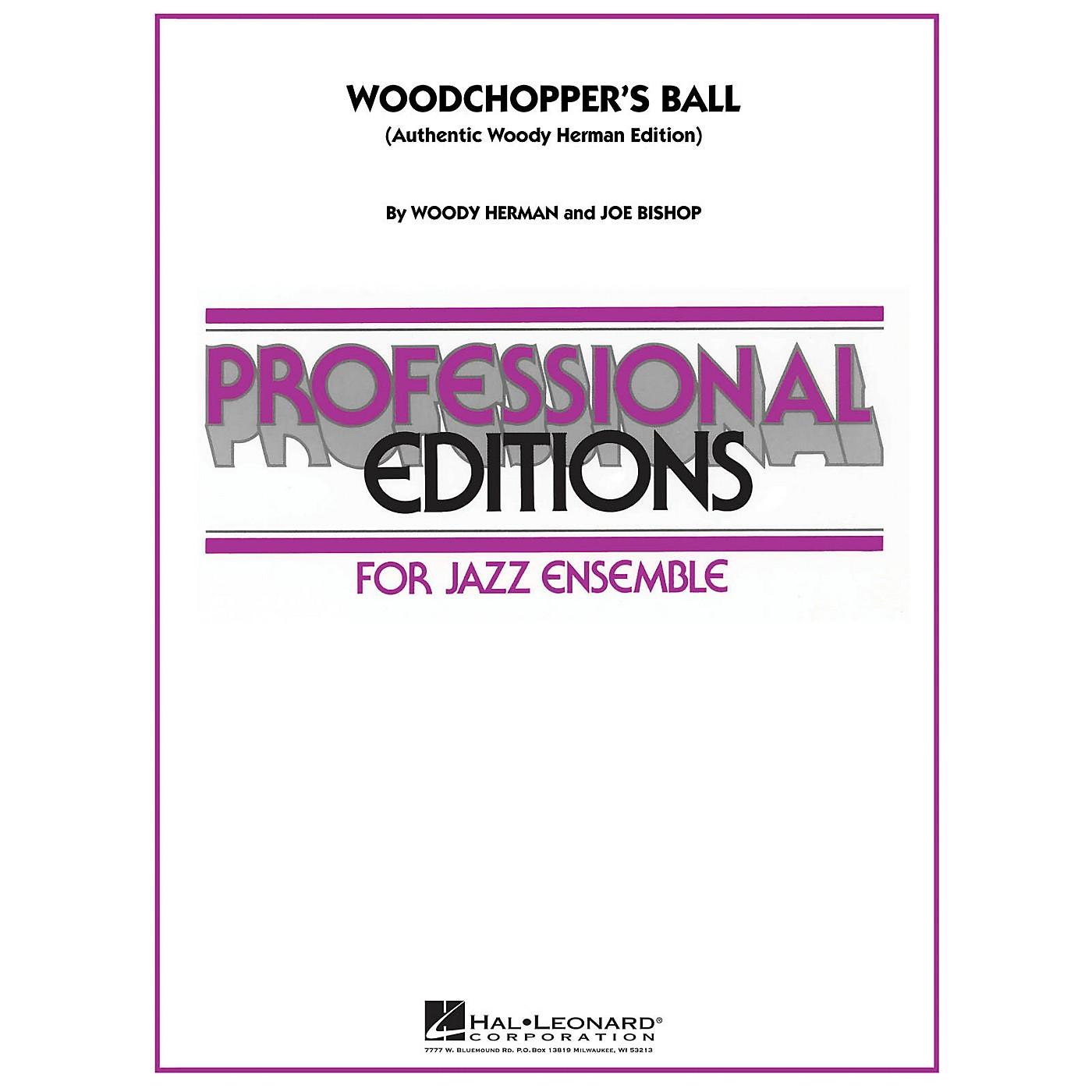 Hal Leonard Woodchopper's Ball (Authentic Woody Herman Edition) Jazz Band Level 5 Arranged by Joe Bishop thumbnail