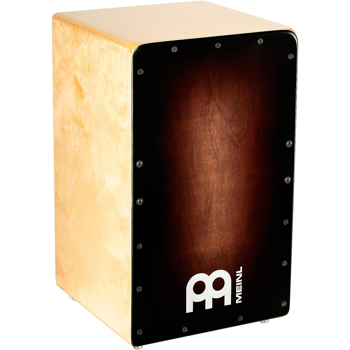 MEINL Woodcraft Series Cajon with Espresso Burst Frontplate thumbnail
