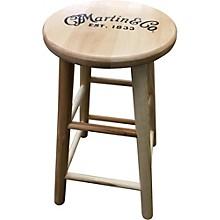 Martin Wooden Ash Logo Barstool
