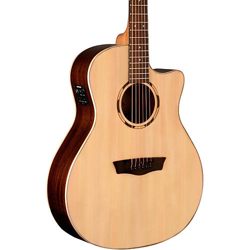 Washburn Woodline Series WLO20SCE Acoustic-Electric Cutaway Orchestra Guitar thumbnail