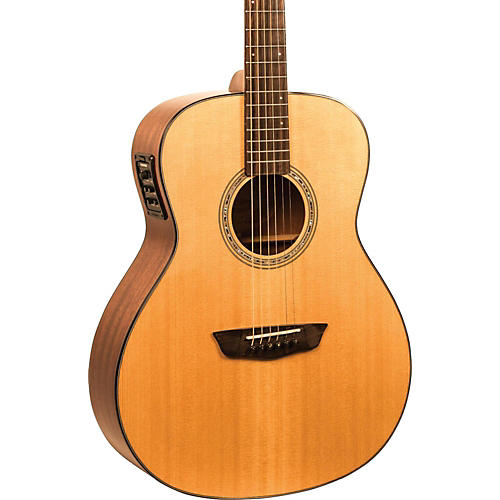 Washburn Woodlline Series WLO100SWEK Orchestra Acoustic-Electric Guitar thumbnail