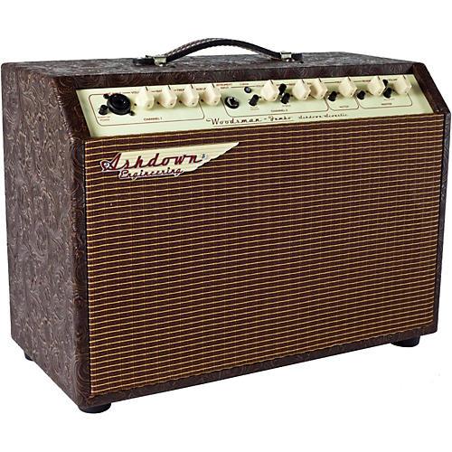 Ashdown Woodsman Jumbo 65W 2x8 Acoustic Guitar Combo Amp with Reverb thumbnail
