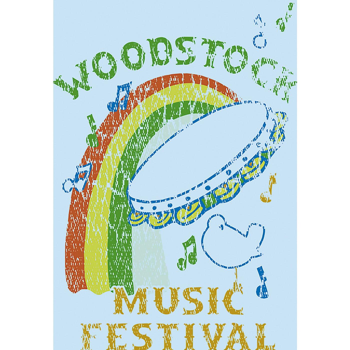C&D Visionary Woodstock Tambourine Magnet thumbnail