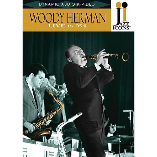 Jazz Icons Woody Herman - Live in '64 (Jazz Icons DVD) DVD Series DVD Performed by Woody Herman thumbnail