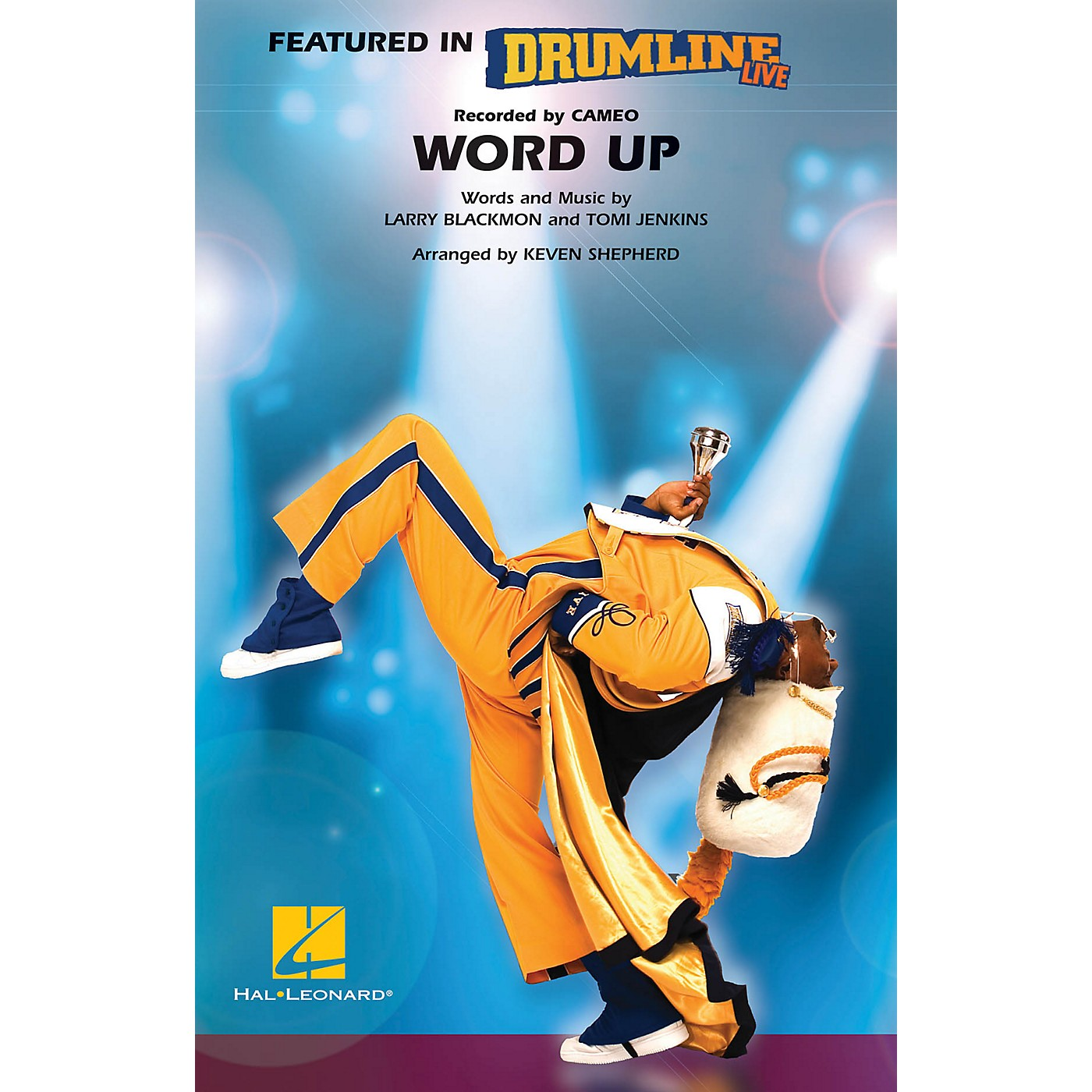 Hal Leonard Word Up (Drumline Live) Marching Band Level 4-5 Arranged by Keven Shepherd thumbnail
