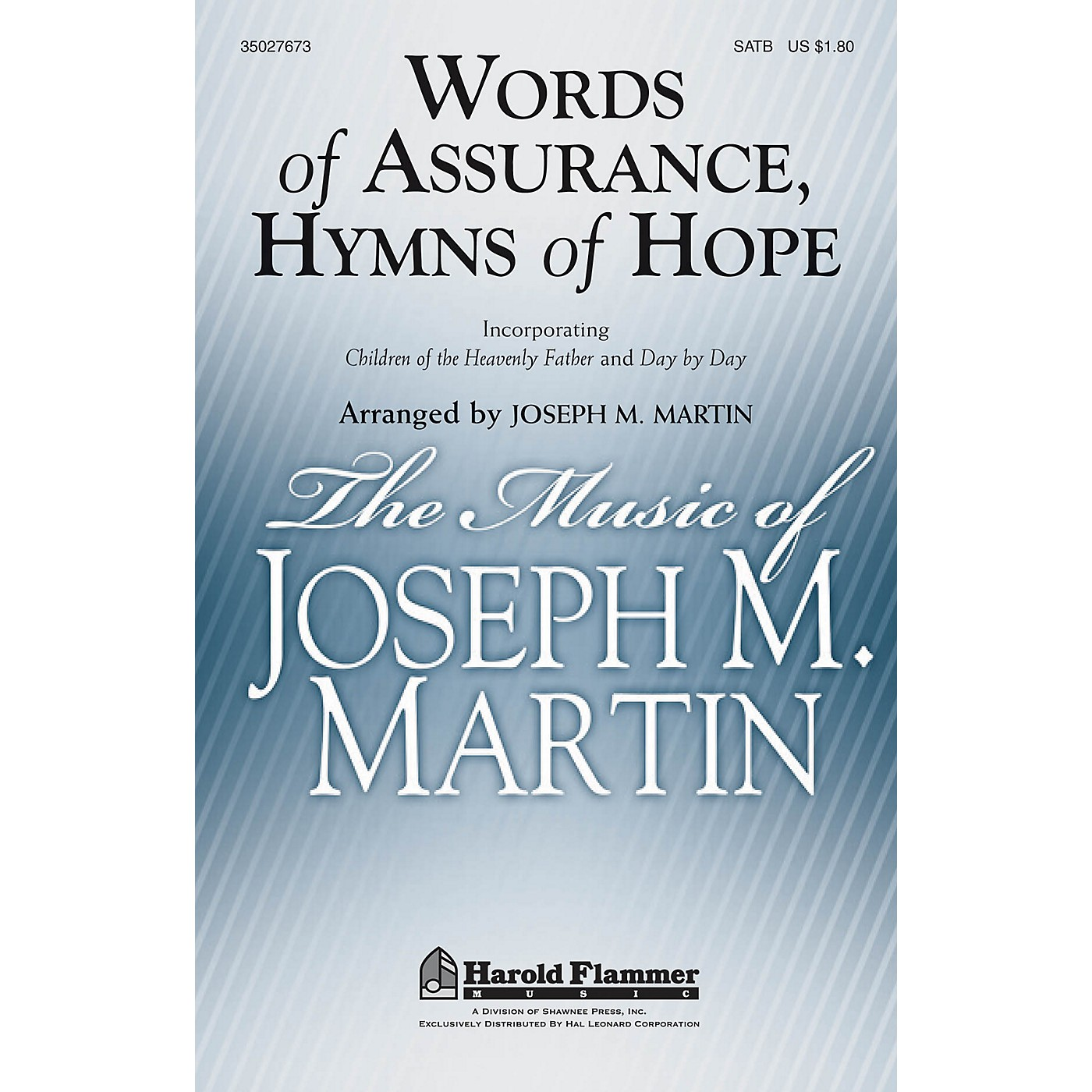 Shawnee Press Words of Assurance, Hymns of Hope SATB arranged by Joseph M. Martin thumbnail