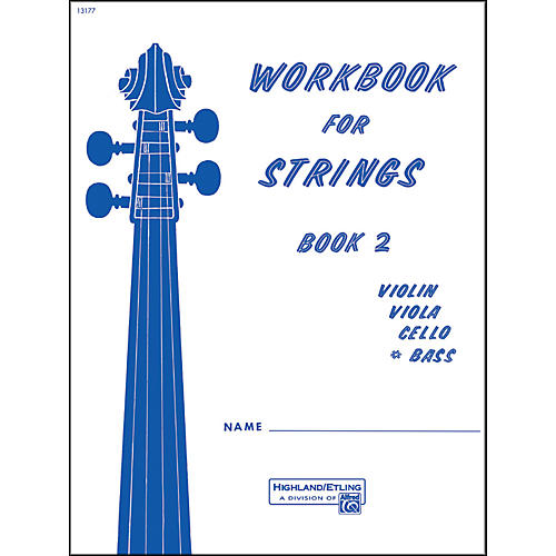 Alfred Workbook for Strings Book 2 Bass thumbnail