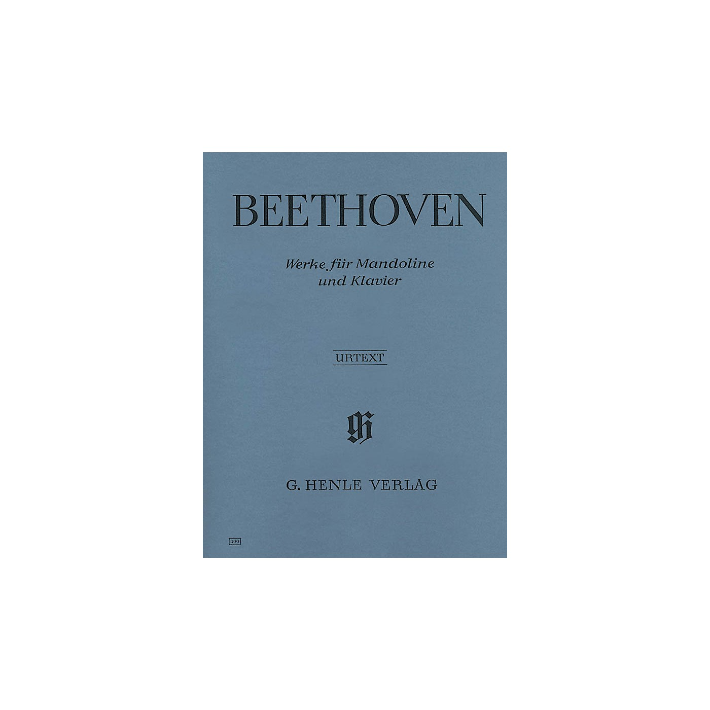 G. Henle Verlag Works for Mandolin and Piano (Mandolin and Piano) Henle Music Folios Series Softcover thumbnail