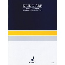 Schott Japan Works for Marimba Duo (Performance Score) Percussion Series