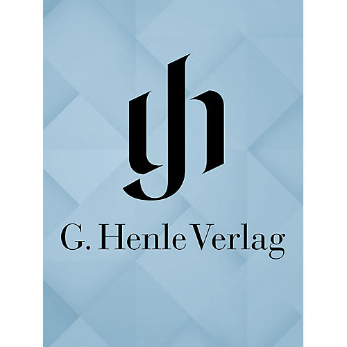 G. Henle Verlag Works for Piano and Cello, Volume III Henle Complete Edition Series Softcover thumbnail