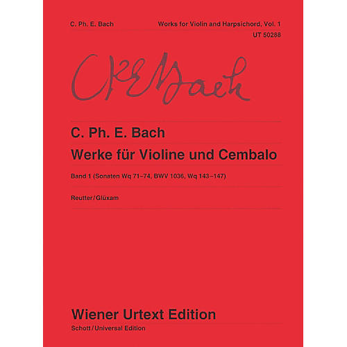 Carl Fischer Works for Violin and Harpsichord Book 1 thumbnail