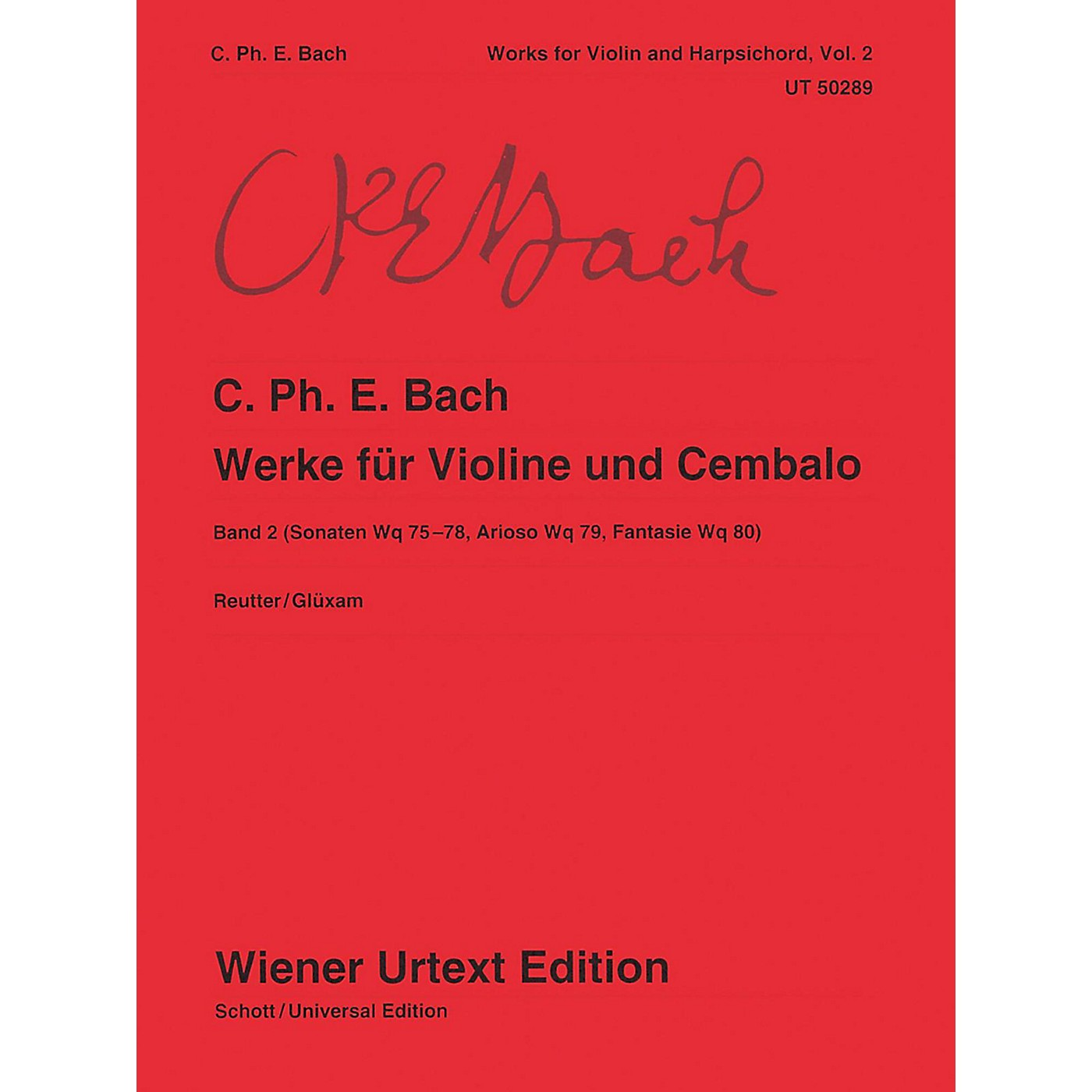 Carl Fischer Works for Violin and Harpsichord Book 2 thumbnail