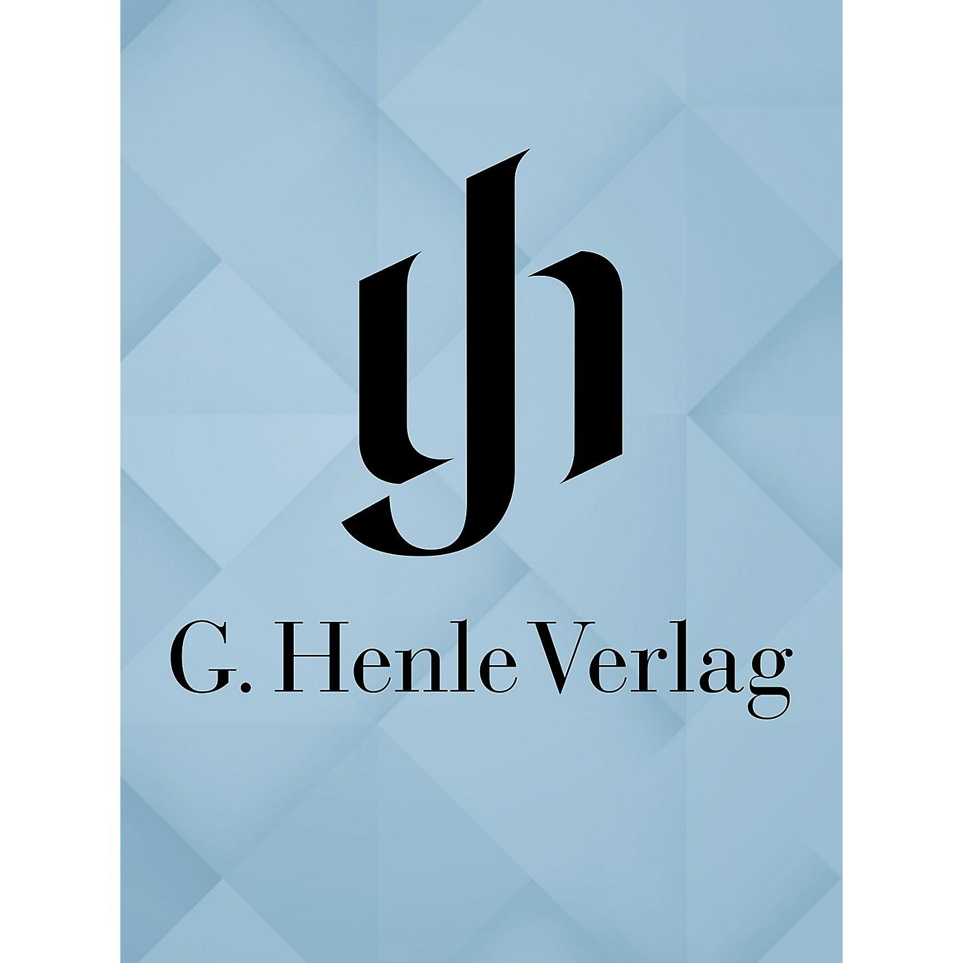 G. Henle Verlag Works with Barytoneseries Henle Edition Series Hardcover thumbnail